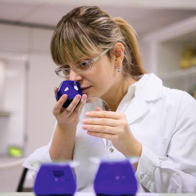 analisis aceite borges en laboratorio