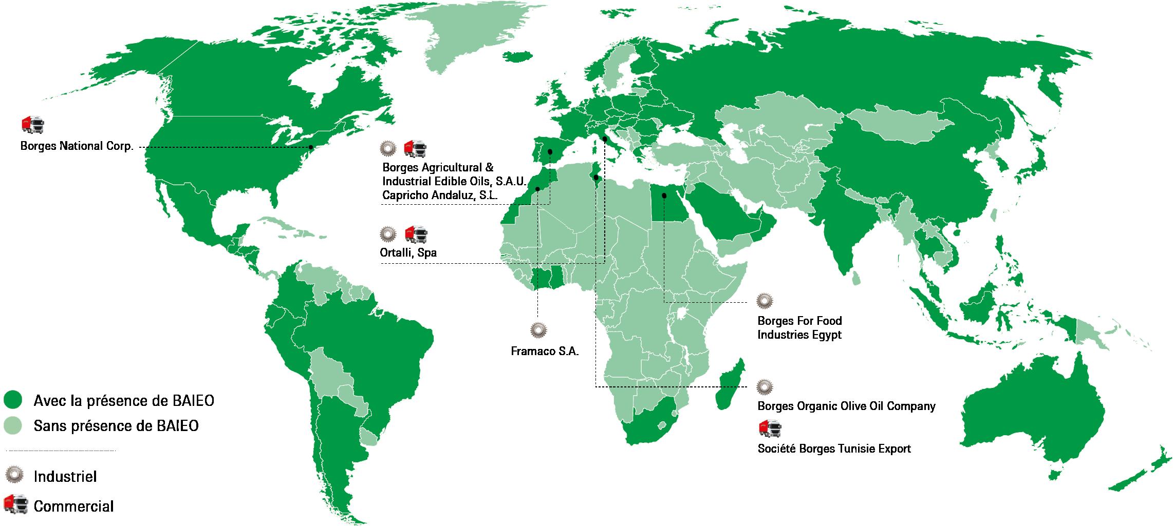Mapa mundi - Borges